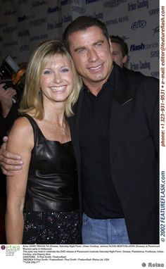 Paramount Reunion Party with John Travolta - olivia-newton-john Photo John Travolta, Olivia Newton John, Grease 1978, Grease Movie, Grease 2, Hollywood Actor, Hollywood Stars, Grease Is The Word, Luke Benward