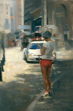 Tina Garrett, I Love NYC, oil, 30 x 24. | Southwest Art Magazine