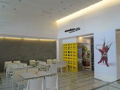 Salt & Peper, restaurant design, in Loutraki | Interior Designer | iidsk Kyriakos Serefoglou