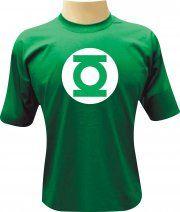 Camiseta Sheldon Lanterna Verde - Camisetas Personalizadas, Engraçadas e Criativas