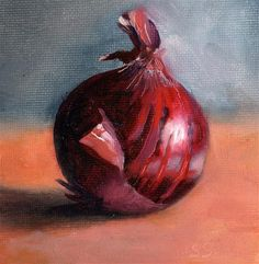 "Daily Paintworks - ""Onion"" - Original Fine Art for Sale - © Steve Strode"
