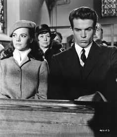 Splendor in the Grass (1961): Dir. Elia Kazan; written by William Inge; starring Natalie Wood, Warren Beatty, Pat Hingle.  Still of Natalie Wood & Warren Beatty pictured.