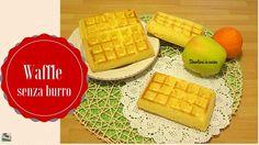 Waffle senza burro | Divertirsi in cucina