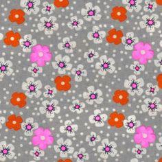 Coton Fleur des îles gris