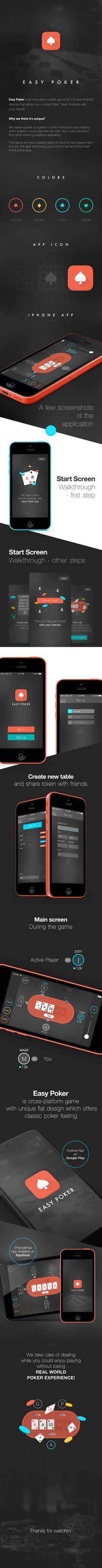 Easy Poker App