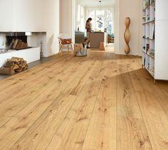 Schulte Räume Lindura Holzboden 200 | Eiche rustikal 8410 | gebürstet — Schulte Räume Lindura wood flooring 200 | Rustic oak 8410 | brushed