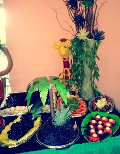 Jungle theme party