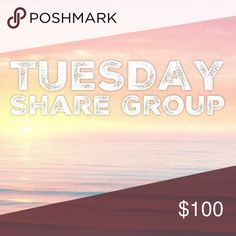 "1/17 Tuesday Share Group Sign up closes at 2pm est💞Tag your name to sign up💞Write ""new"" if you are new💞Share 10 available items from each person who signs up💞 Sharing begins at 8am est. Please share  by midnight your time💞Share to your followers, not to parties💞Be Posh compliant or you may be skipped💞Mark your spot with ***and first 3 letters of where you left off💞Sign out when finished💞 If you sign up to freeload shares, you will be blocked💞Please only ask questions in the Q&A…"