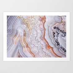 Buy Crazy lace agate Art Print by annbphoto. Worldwide shipping available at Society6.com. Just one of millions of high quality products available.