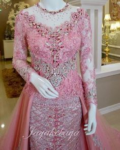 Kebaya Pink, Kebaya Lace, Batik Kebaya, Kebaya Dress, Kebaya Brokat, Batik Dress, Kebaya Hijab, Blouse Batik, Kebaya Modern Hijab