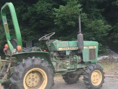 our beloved tractor Compact Tractors, John Deere Tractors, Farm Life, Farming, Vehicles, Car, Vehicle, Tools