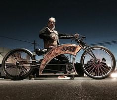 Toe Cutter built by Lowlife Bikes for my friend Don T Flores. #ToeCutter #power