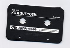 MIXTAPE GENERATION Business Card