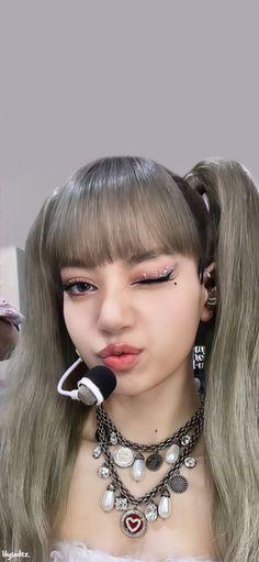 Twitter Blackpink Video, Jennie, Love Rose, Septum Ring, Instagram, Lily, Make Up, Earrings, Jewelry
