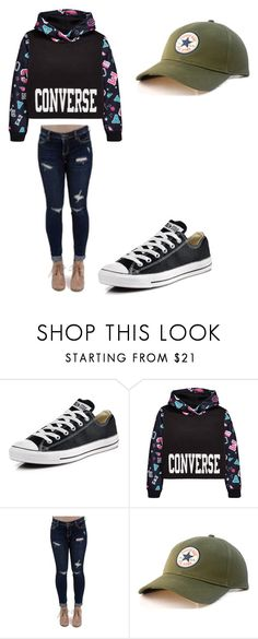 """""""Mrs.Converse"""" by anitaviolakovacs on Polyvore featuring Converse and Cello"""