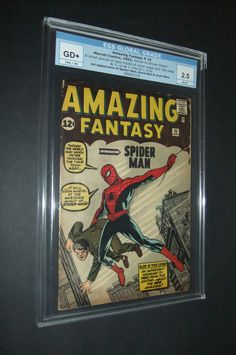 Holy Grail - Amazing Fantasy # 15 EGS graded.