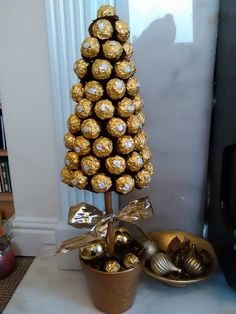 Ferrero Rocher Sweet Tree - approx. 40 chocolates, more than enough for everyone www.kitchenfairiesleeds.co.uk