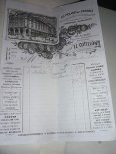 Sales receipt for ancien-piano-jouet-1900 - from sanouva08 on ebay
