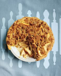 Apple-Sour Cream Crumb Pie Recipe