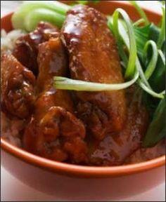 Alitas de pollo con salsa de soja - blog thermorecetas
