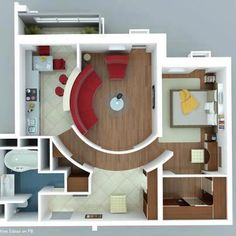 Amazing Small Area Home Plan!!!