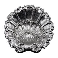 Shell Form Dish | Dining &... | Sotheby's Silver Picture Frames, Dessert Stand, Rococo Style, Metal Casting, Art Object, American Art, Art Decor, Silver Plate, Shells