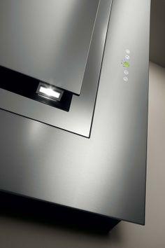 Cooker Hoods, Industrial Design, Kitchen Design, Innovation, Audio, Led, Mirror, Detail, Home Decor