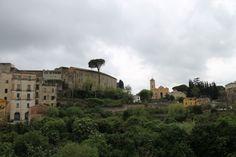 Panoramica del Castello Colonna e del Santuario dei Medici Cosma e Damiano #Eboli