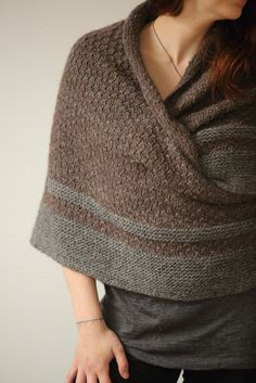 Hedgewitch Shawl Knit Pattern $8 @ https://www.wolfandfaun.com/collections/patterns-by-wolf-faun-knits-digital-pdf/products/hedgewitch-shawl-knit-pattern