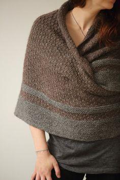 Hedgewitch Shawl Knit Pattern