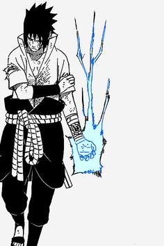 Uchiha Sasuke and his Chidori