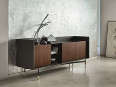 Wooden sideboard DIALOGO by Ditre Italia