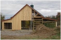 Barn Plans - Order practical barn blueprints, car barn plans with lofts and optional add-on garages, carports, storage spaces, greenhouses and workshop areas, horse barn plans, workshop designs and plans for small barns, hobby shops, backyard studios and small animal shelters. Choose from all types of pole-barns, mini-barns and sheds.