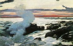 Prout's Neck-Winslow Homer.