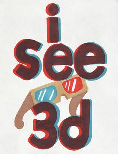 i see 3D!