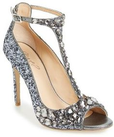 Bling pumps by Mischka