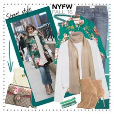 """""""60 Second Style: Best NYFW Street Style"""" by martinabb ❤ liked on Polyvore featuring Paige Denim, Gucci, Acne Studios, Betsey Johnson, Gianvito Rossi, Charlotte Russe, women's clothing, women, female and woman"""