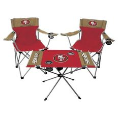 NFL Chicago Bears Rawlings Tailgate Kit - 2 Chairs and Endzone Table   Bears 0d7df5eca16