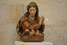 Arte en Valladolid: LA BELLEZA DE LO COSTUMBRISTA: El grupo de Santa Ana, la Virgen y el Niño de Esteban de Rueda para la iglesia de Santa María de Villavellid