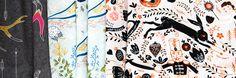 unique fabrics designed by individuals