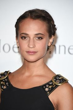 alicia-vikander. My new girl crush! She is stunning and so natural!