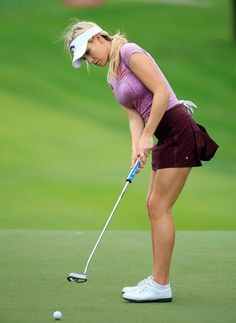 Expert Golf Tips For Beginners Of The Game. Golf is enjoyed by many worldwide, and it is not a sport that is limited to one particular age group. Not many things can beat being out on a golf course o Sexy Golf, Girls Golf, Ladies Golf, Best Golf Clubs, Golf Player, Golf Tips For Beginners, Perfect Golf, Golf Gifts, Golf Fashion