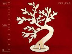 картинка Подставка под украшения ИВА, арт.13850, Игрушка из дерева магазин Полноцвет являющийся официальным дистрибьютором в России