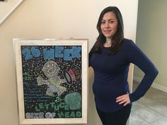 Chalkboard Pregnancy, Office Supplies