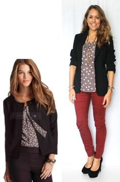J's Everyday Fashion: Today's Everyday Fashion: One Top, Four Ways - Already own this shirt - another fun way to wear it.