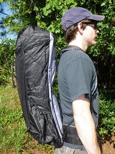 ZPacks.com Ultralight Backpacking Gear - Arc Blast Ultralight Backpack - I love how the pack sits off the back, so my back wouldn't be drenched after a long day hiking