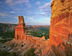 Palo Duro is the second-largest canyon in the United States and is located just south of Amarillo, Texas.
