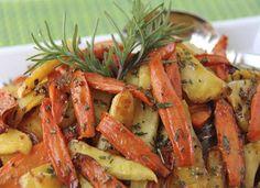 وصفات: بطاطس وجزر سوتيه بالأعشاب