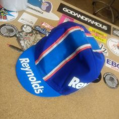 Going off to someone called Reynolds.  #cycling #capsnothats #brightenyourride