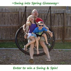 ***Giveaway*** Enter to win a Swing & Spin! It's fun for the whole family! Ends 4/7